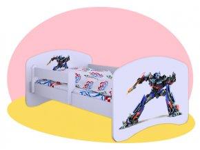 Optimus Prime - posteľ Hobby biela 180x90