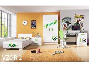 8925 detska izba loop futbal vzor 2