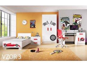 Chlapčenská izba LOOP Formula 1 - vzor 3