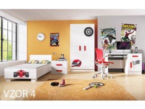LOOP izba pre chlapcov motív 4 - formula