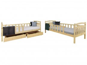 Poschodové postele Paula 7 180x80