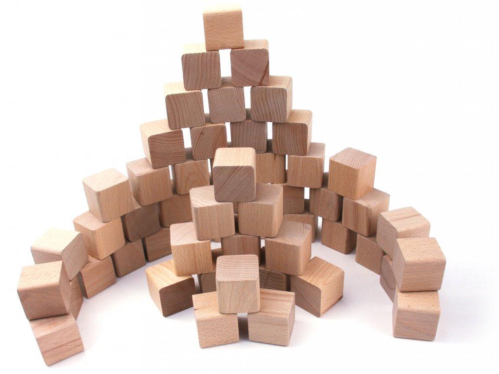 """Dřevěné kostky """"VictorCube"""""""