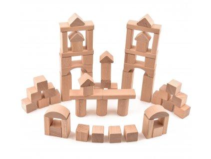 """Dětská stavebnice pro kluky """"VictorCube"""" - 62 ks"""