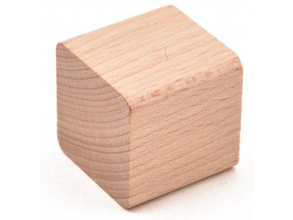 """Dřevěná  KOSTKA -komponenty dřevěné stavebnice """" VictorCube"""""""