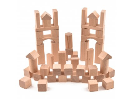 """Dětská stavebnice """"VictorCube"""" - 81 ks"""