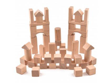 """Dětská stavebnice """"VictorCube"""" - 51 ks"""
