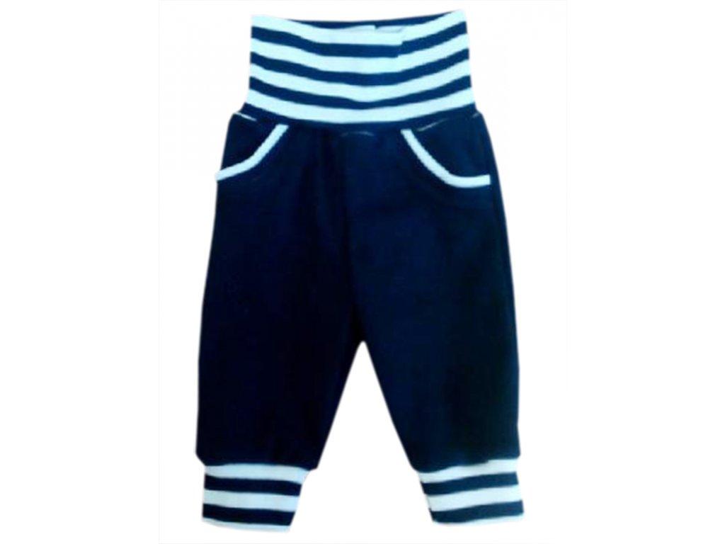 Dětské tepláky tmavě modré