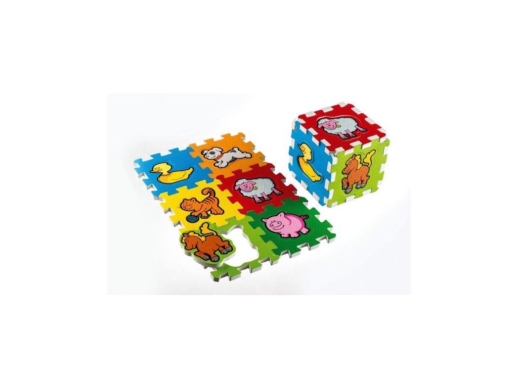 Pěnové puzzle Moje první zvířátka