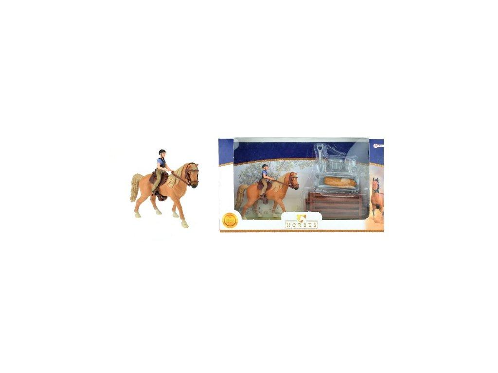 Zvířátka farma - kůň + žokej