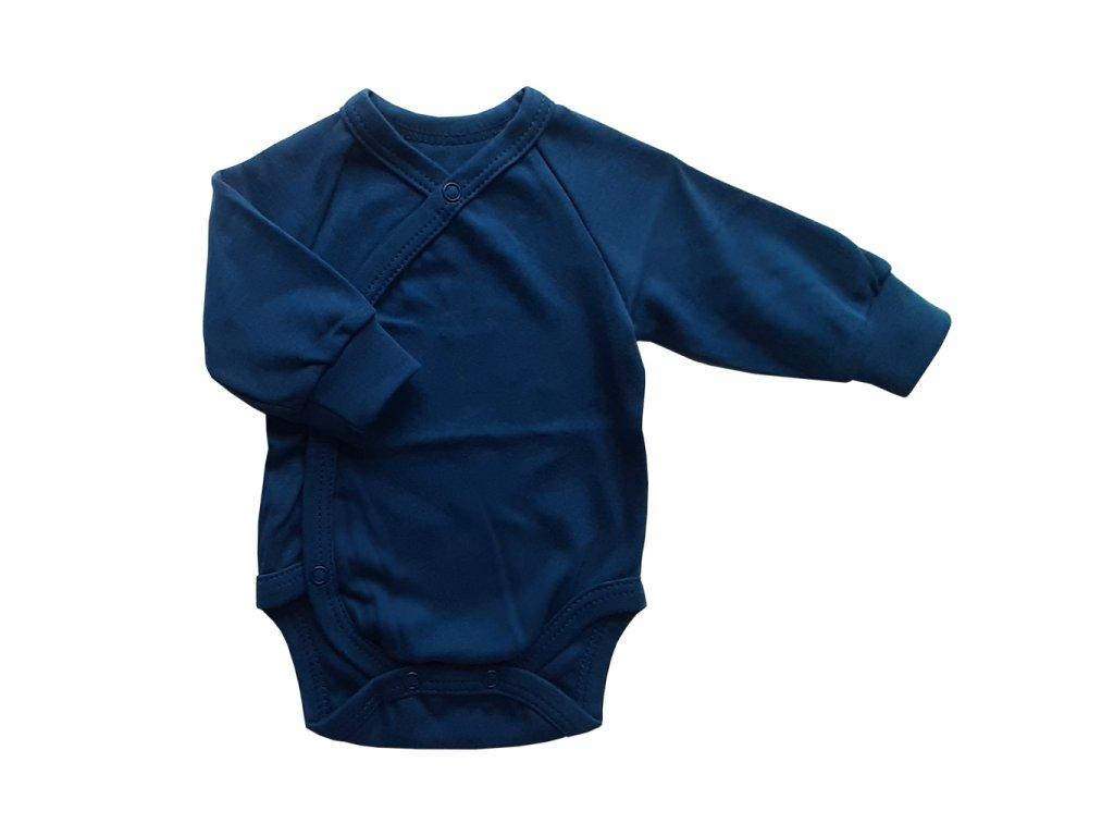 Dětské a kojenecké body modré