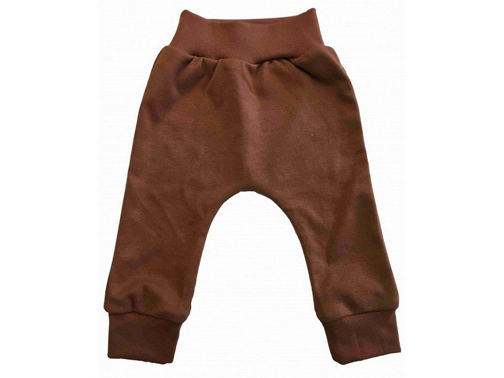 Kojenecké kalhoty hnědé