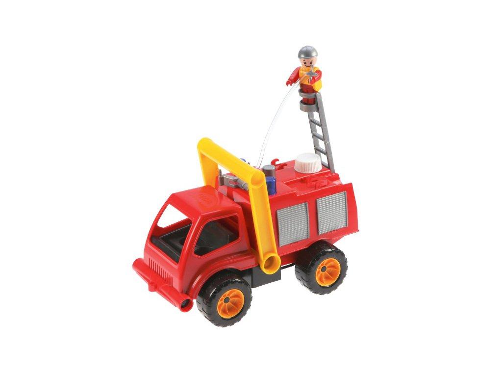DĚTSKÁ HRAČKA Auto hasiči stříkající vodu
