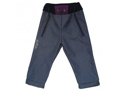 detske softshellove kalhoty kostka vinova zimni kod 5140