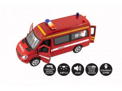 Auto hasiči se světlem a zvukem