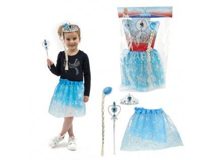 Kostým - princezna Elsa z Ledového království