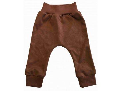 Dětské kalhoty hnědé