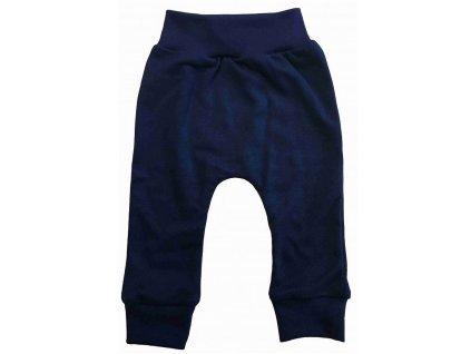 Dětské kalhoty tmavě modré