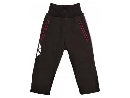 Dívčí softshellové kalhoty