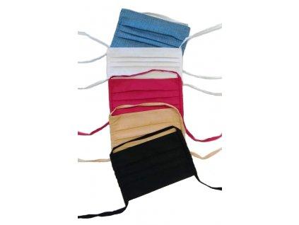 Roušky se zavazováním na dvě tkaničky