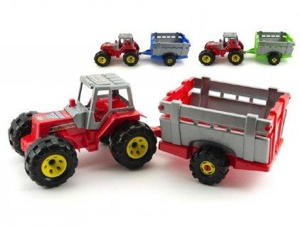 detska hracka traktor s privesem 1