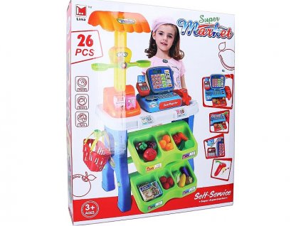 detska hraci sada lima supermarket s pokladnou