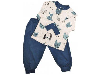 Dětské pyžamo Patrik modrá varianta