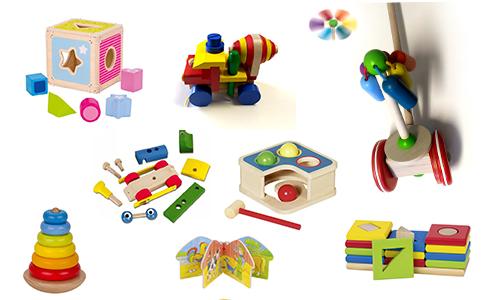 Hračky pro nejmenší