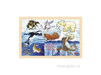 29 puzzle polarni zviratka