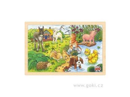 29 puzzle zvirata dom