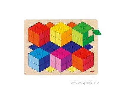 puzzle kostky