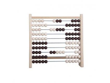 Počítadlo s dřevěnými kuličkami