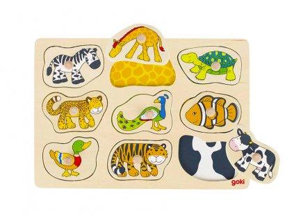 57585 puzzle barva kuze