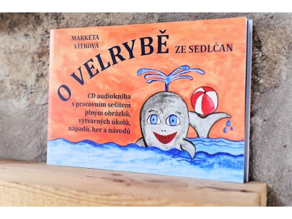 Kniha + audiokniha O velrybě ze Sedlčan