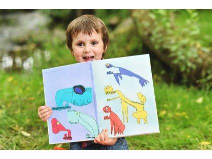 Kniha Dinosaurům v patách
