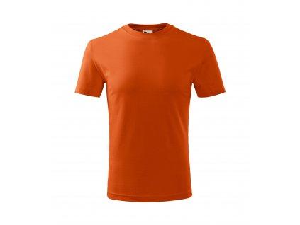 9124 triko detske oranzove vel 110 158 cm