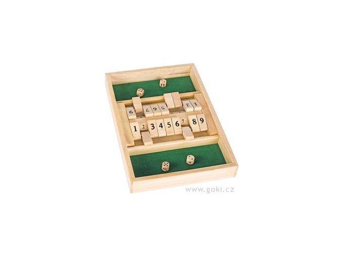 Stolní hra Shut the box