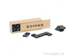 Dřevěné domino klasické, 28 dílků