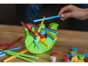 Dovednostní hra krokodýl, 60 dílů