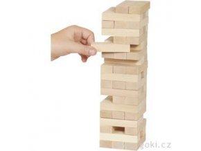 Dovednostní hra Věž ze dřeva