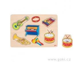 Zvukové puzzle Hudební nástroje