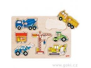 puzzle nakladni auta 1
