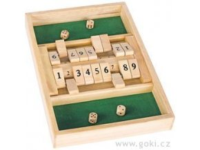Stolní hra Shut the box