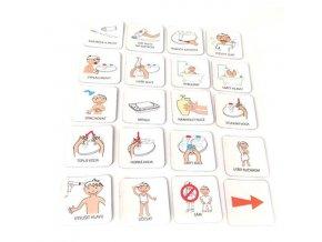 Hygiena 1 chlapec, set 20 ks piktogramů