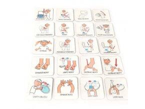 Hygiena 2, set 20 ks piktogramů