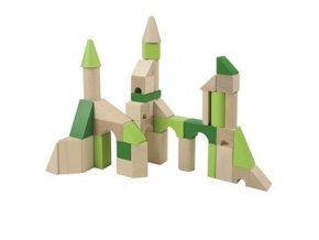 Dřevěné kostky XL