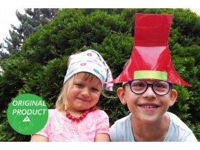 samolepici klobouk Rumcajs deti