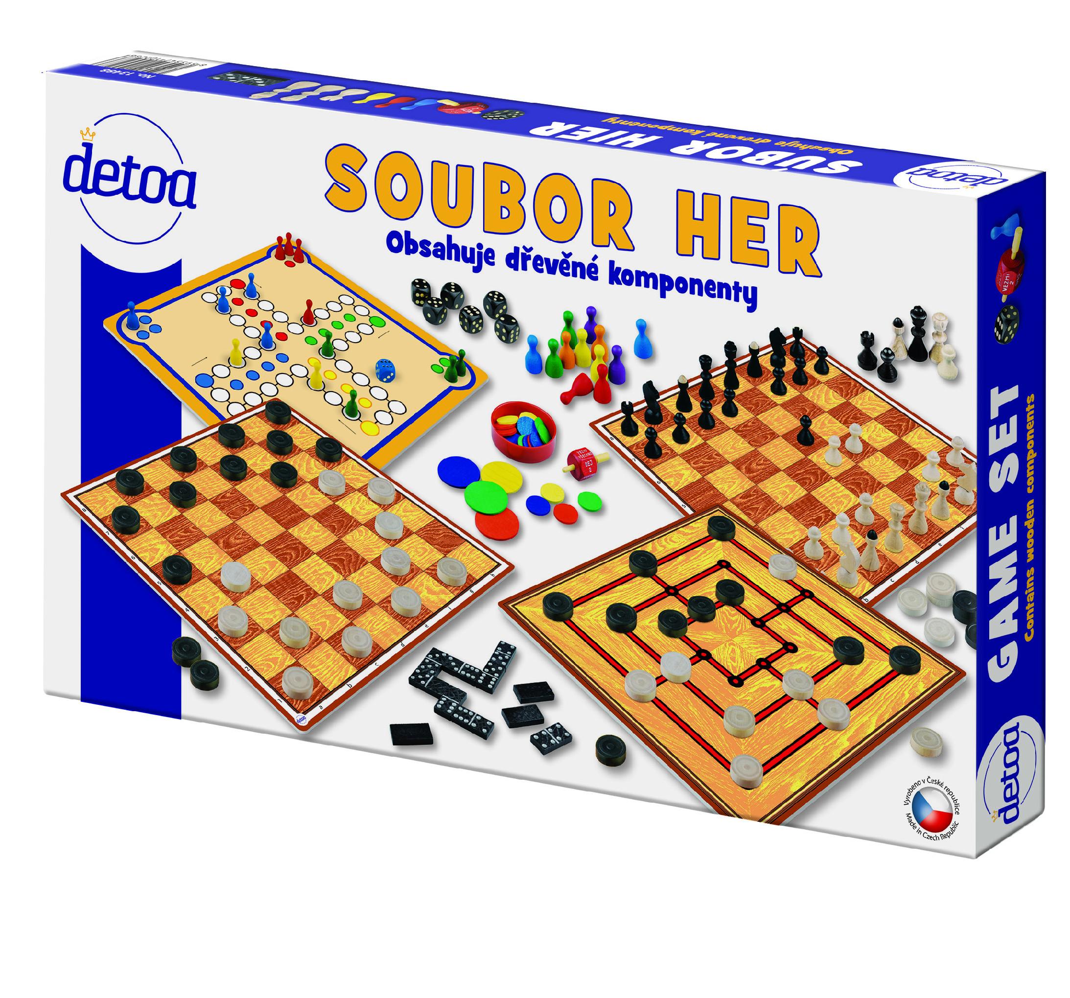 DETOA Soubor her