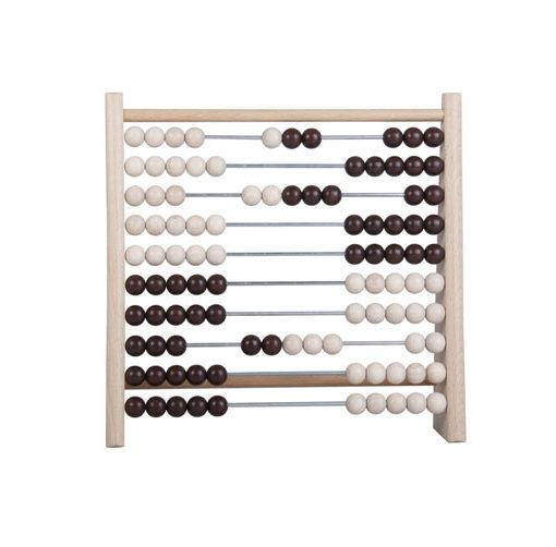 DETOA Počítadlo s dřevěnými kuličkami