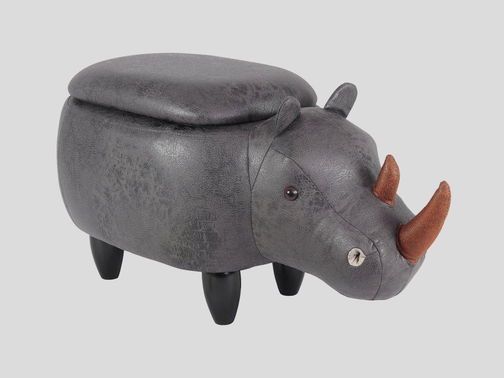 Dětský taburet - nosorožec