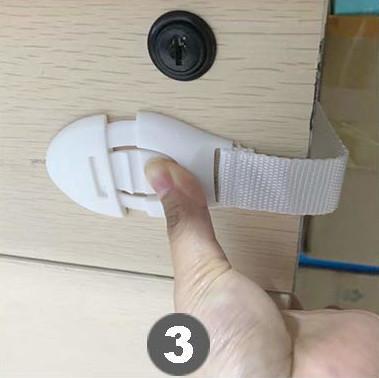 Zábrana na šuplíky - instalace krok za krokem